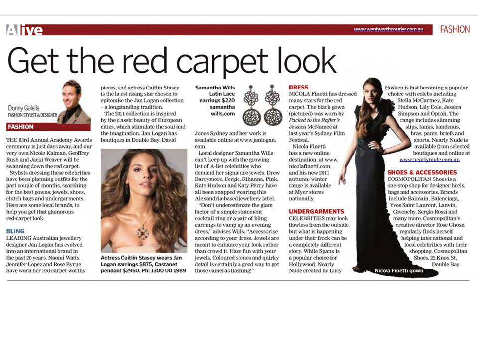 Get the red carpet look Feb 2011
