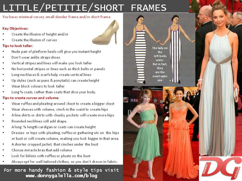 Petite / Short frame body shape – Donny Galella