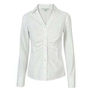 White Silk Blouse Target 18