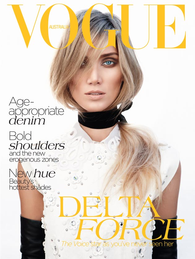 The cover of July 2012 Vogue Australia