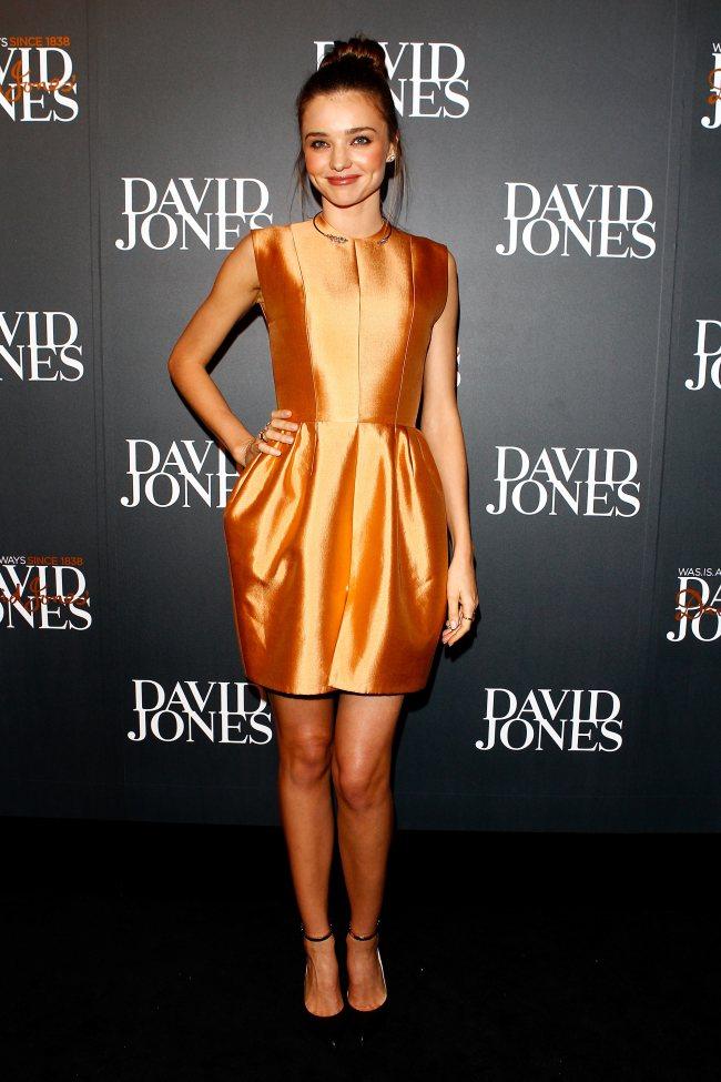 49c14e82ce David Jones 2013 Autumn Winter Fashion Show – red carpet arrivals ...