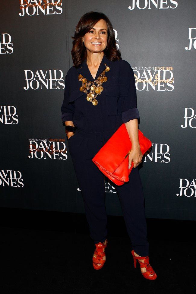 David Jones 2013 Autumn Winter Fashion Show Red Carpet