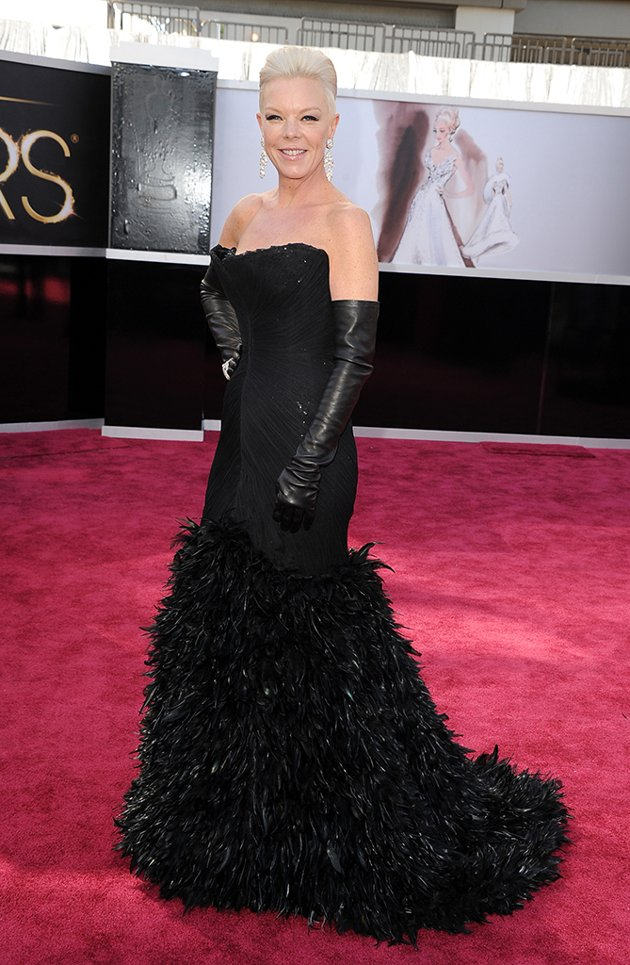 Fashion At The Oscars 2013 Red Carpet Donny Galella