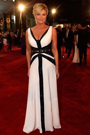 2013 Logie Awards Red Carpet Fashion Wrap Donny Galella