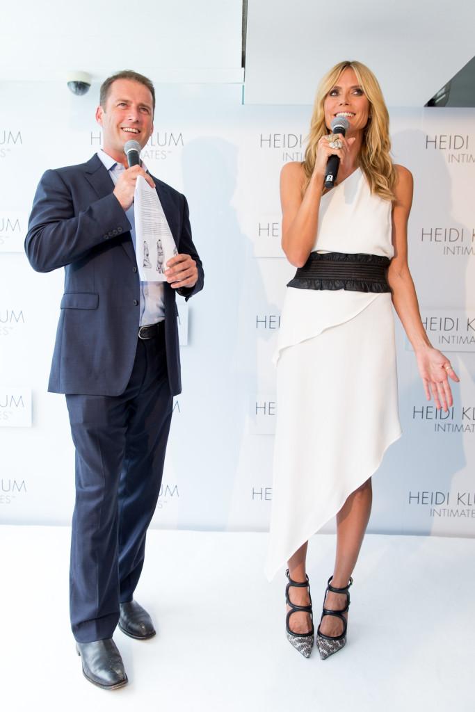HeidiKlumIntimates-260115-038-Karl Stefanovic, Heidi Klum