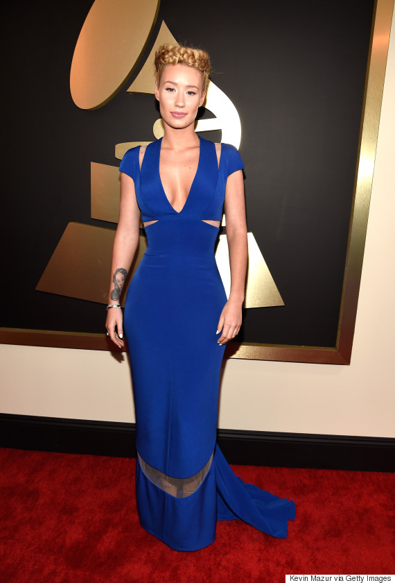 Grammy Awards 2015 Fashion Wrap Donny Galella