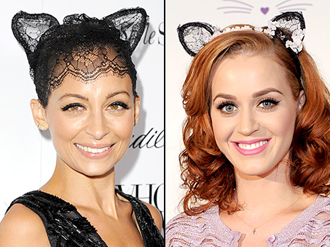 nicole-richie-katy-perry-cat-ears-inline