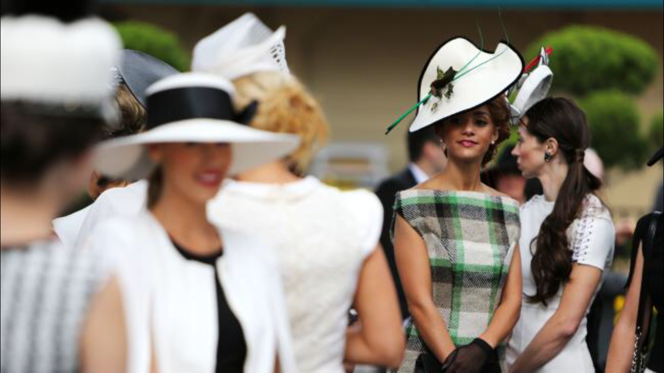 What NOT to wear trackside for the Autumn race carnival. - Donny Galella